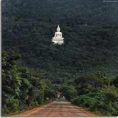 Sacred Buddha Temple, Anuradhapura, Sri Lanka