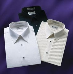 Our lay collar shirts are both stylish and durable; perfect for banquets, caterers, and high-end restaurants. http://www.sharperuniforms.com/tuxedo-shirt-lay-collar-mens-shirts.html