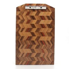 Legal Walnut Checkered Clipboard-9x15