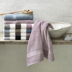 VanDyck - Prestige line, dark grey towels