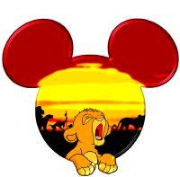 Baby Simba in a Mickey head Disney Amor, Arte Disney, Disney Love, Disney Magic, Mickey Y Minnie, Mickey Head, Disney Mickey, Disney Pixar, Disney Cruise