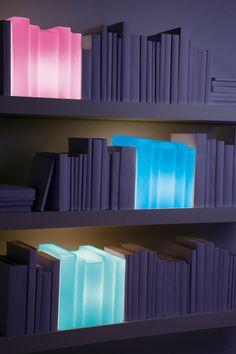 Lampe Biblio multicolore