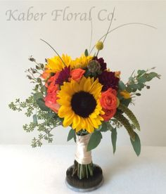 Fall Bridesmaid Bouquet.