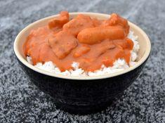 Svinekød Arkiv - Side 3 af 4 - Madenimitliv Bacon, Danish Food, Thai Red Curry, Cake Recipes, Carrots, Food And Drink, Vegetables, Danish Recipes, Ethnic Recipes