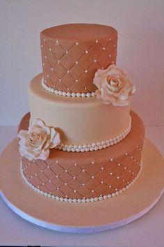 Wedding Cakes NY - Neutral Shades Custom Cakes all things neutral Cute Birthday Cakes, Beautiful Birthday Cakes, Beautiful Wedding Cakes, Beautiful Cakes, Amazing Cakes, Unique Cakes, Elegant Cakes, Fondant Cakes, Cupcake Cakes