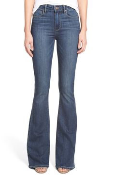 Paige Denim 'Transcend - Bell Canyon' High Rise Flare Jeans (Akiva)