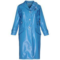 Miu Miu Overcoat (110.365 RUB) ❤ liked on Polyvore featuring outerwear, coats, sky blue, long sleeve coat, lapel coat, collar coat, miu miu and blue coat