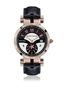 Chrono Diamond Reloj de cuarzo Woman 11910 Feronia Negro 38 mm