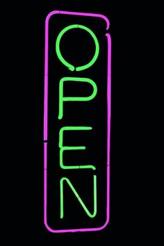 Leadleds Neon Sign Portable Led Open Sign Board Red and Blue Color with 2 Light Modes for Beauty Salon Nail Sushi Bakery Barber Massage Restaurant Office Store Business Led Open Sign, Open Signs, Neon Words, Neon Nights, Neon Wallpaper, Sign Lighting, Business Signs, Street Signs, Light Painting