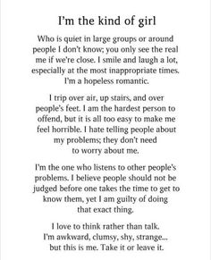 16 Poem Quotes Deep Life - Much Quotes Self Love Quotes, Real Quotes, Good Girl Quotes, Being A Girl Quotes, Sad Fat Quotes, Quotes On Loss, Being Quiet Quotes, Success Quotes, Shy Quotes