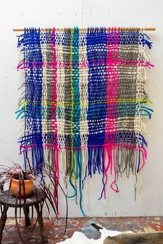 Image of felted weave Natalie Miller