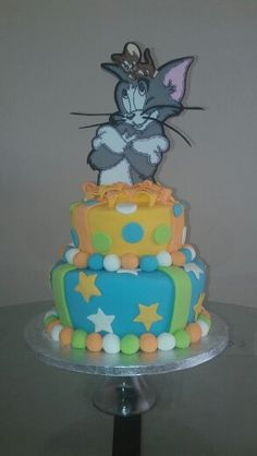 Tom and Jerry cake!!