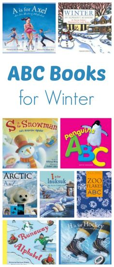 ABC Books ABC Books for Winter.learn about winter and winter activities with these great alphabet books for winter.ABC Books for Winter.learn about winter and winter activities with these great alphabet books for winter. Alphabet Books, Alphabet Activities, Preschool Activities, Alphabet Soup, Preschool Lessons, Preschool Learning, Kids Learning, Winter Fun, Winter Theme