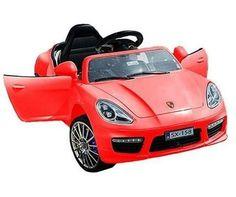 Disfruta de la primavera con el Porsche deportivo rojo con radio control parental. Dispone de varias velocidades, además de marcha atrás. Las ruedas se iluminan mediante LED. Alcanza los 3-7 km/hr. También disponible en rosa. PVP 179,99€ #toyplanet #Denia #toyplanetDenia #toyplanetsl #porsche #cayenne #panamera