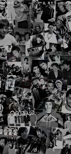 One Direction Collage, One Direction Background, Four One Direction, One Direction Lockscreen, One Direction Posters, One Direction Images, One Direction Wallpaper, One Direction Humor, Black And White Picture Wall