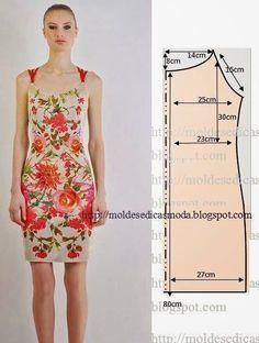Simple patterns of summer dresses and sarafans Sewing Patterns Free, Clothing Patterns, Dress Patterns, Free Sewing, Diy Clothing, Sewing Clothes, Diy Fashion, Ideias Fashion, Fashion Design