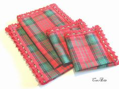 Christmas Placemats Set of two Placemats with by CreArtebyPatty