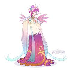 Galloping Gala Cadance by Flying-Fox on DeviantArt My Little Pony Dress, My Little Pony Drawing, Mlp My Little Pony, My Little Pony Friendship, Raimbow Dash, Princess Cadence, Princess Celestia, Celestia And Luna, Little Poni