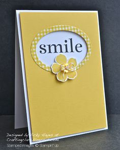 Stampin' up Smile