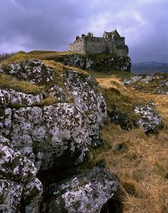 Duart Castle - Isle of Mull, Scotland. The castle dates back to the 13th century and is the seat of Clan MacLean.
