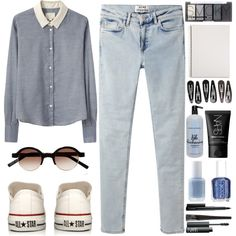 """#130 """"The sky grew darker, painted blue on blue, one stroke at a time, into deeper and deeper shades of night."""" on Polyvore"""