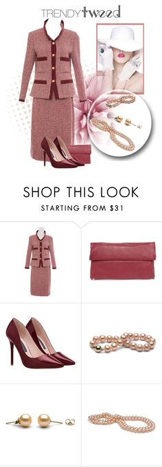 """""""Trendy Tweed"""" by teez-biz-nez ❤ liked on Polyvore featuring Chanel, Yoki, women's clothing, women, female, woman, misses, juniors and trendytweed"""