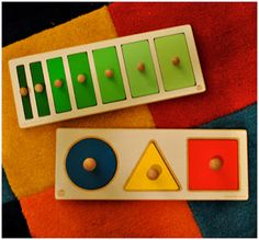 knobbed and knobless cylinders, wooden puzzles