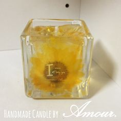 Sun Flower Full Ordered Candle