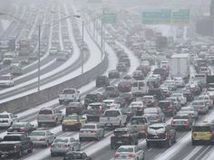 Snow Wreaks Havoc In Atlanta - Business Insider