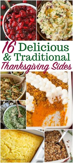 These traditional thanksgiving sides are the perfect accompaniment to the delicious turkey dinner! Check out all these ideas here! Check out these incredibly simple, yet delicious Thanksgiving sides you need to serve to your family and friends this year. Traditional Thanksgiving Sides, Easy Thanksgiving Sides, Best Thanksgiving Recipes, Thanksgiving Traditions, Thanksgiving Appetizers, Holiday Recipes, Thanksgiving Outfit, Thanksgiving Crafts, Dinner Recipes