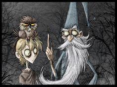 Arthur, Achimedes & Merlin by Jonas Rebenke [©2009]
