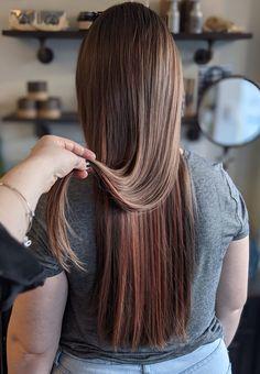 Subtle rose gold hair Rose Gold Hair, Brand Board, Dreadlocks, Long Hair Styles, Inspiration, Beauty, Biblical Inspiration, Long Hairstyle, Long Haircuts