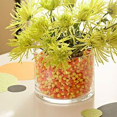 Decorating with candy corn