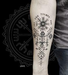 Rune Viking, Viking Tattoo Symbol, Norse Tattoo, Celtic Tattoos, Viking Tattoos, Arrow Tattoos, Forearm Tattoos, Body Art Tattoos, Sleeve Tattoos