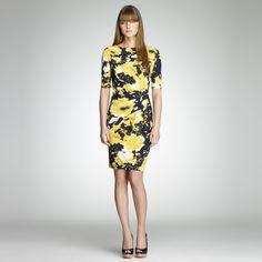 Floral Twisted Dress. Jones New York Website