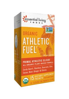 You've got determination, dedication and drive. But you've got something even more important — you've got your body, an intricate and powerful machine. Like any machine, your body needs well-formulated fuel to function at peak performance. Put greatness in, get greatness out. That's why we make our organic Athletic Fuel supplement.