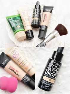 4 Sheer Foundations for Combination Skin