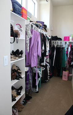 home tours, closets, babi closet, closet organization, organizations, homes, furniture decor