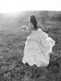 Romantic Outdoor Bridal Session  Read more - http://www.stylemepretty.com/texas-weddings/2014/02/21/romantic-outdoor-bridal-session/