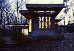 Pope-Leighey House by Frank Lloyd Wright - Alexandria, Virginia