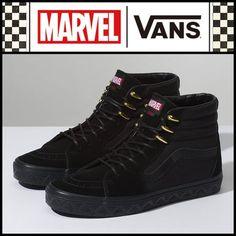 0a34d693b532  VANS x MARVEL BLACK PANTHER SK8-HI