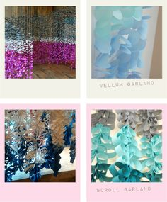 Pure Joy Events: Anthropologie Inspired DIY Series - great backdrop ideas!