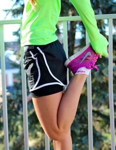 Stretch every time before you run/work out. It will help with muscle gain and help you get more into shape.