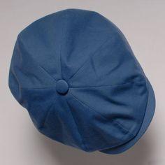 e606b879fa3 Scarti-Lab Hatteras Cap Canvas Light Blue