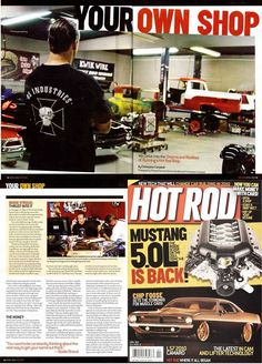 """#ThrowBackThursday to 2010 when Bodie and Bodie Stroud Industries was Featured in """"Hot Rod Magazine"""" for their April '10 Issue!  So Much has happened since 2010!   Excited to see what the Future holds for #BSIndustries !   Thanks Everyone for your Awesome Comments and Posts!  Photo: www.BodieStroud.com 2015   #BodieStroud #BodieStroudIndustries #LosAngeles #CA #AutomotiveIndustry #HotRods #Cars #Trucks #AutomotiveNews #HotRodMagazine #TBT #FBF #FlashBackFriday #BSI"""