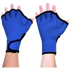 Activity & Gear Humorous Swimming Accessories Webbed Gloves Men Women Baby Swimming Advanced Supplies Training Necessary Half Finger Paddles Equipment To Have A Long Historical Standing