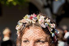 diadema de flores para bodas