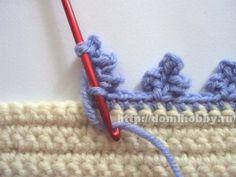 """Вязание """"пико"""" крючком разных видов"""
