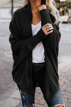 2019 winter new women sweaters casual batwing sleeve kintted winter women cardigan ladies tops fashion clothes pull femme - red coffee XL Batwing Cardigan, Long Knit Cardigan, Batwing Sleeve, Winter Cardigan, Oversized Cardigan, Burgundy Cardigan, Cocoon Cardigan, Black Cardigan, Green Sweater