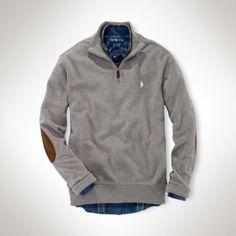 Polo Ralph Lauren Textured Pima Cotton Half-Zip #men'spolo #men's #knitwear #internet Fashion News, Men's Polo, Polo Ralph Lauren, Pullover, Zip, Men's Knitwear, Sweaters, Cotton, Jackets